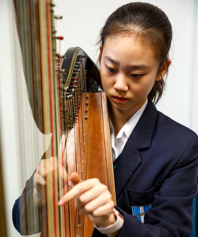 Instrumental Lessons large square